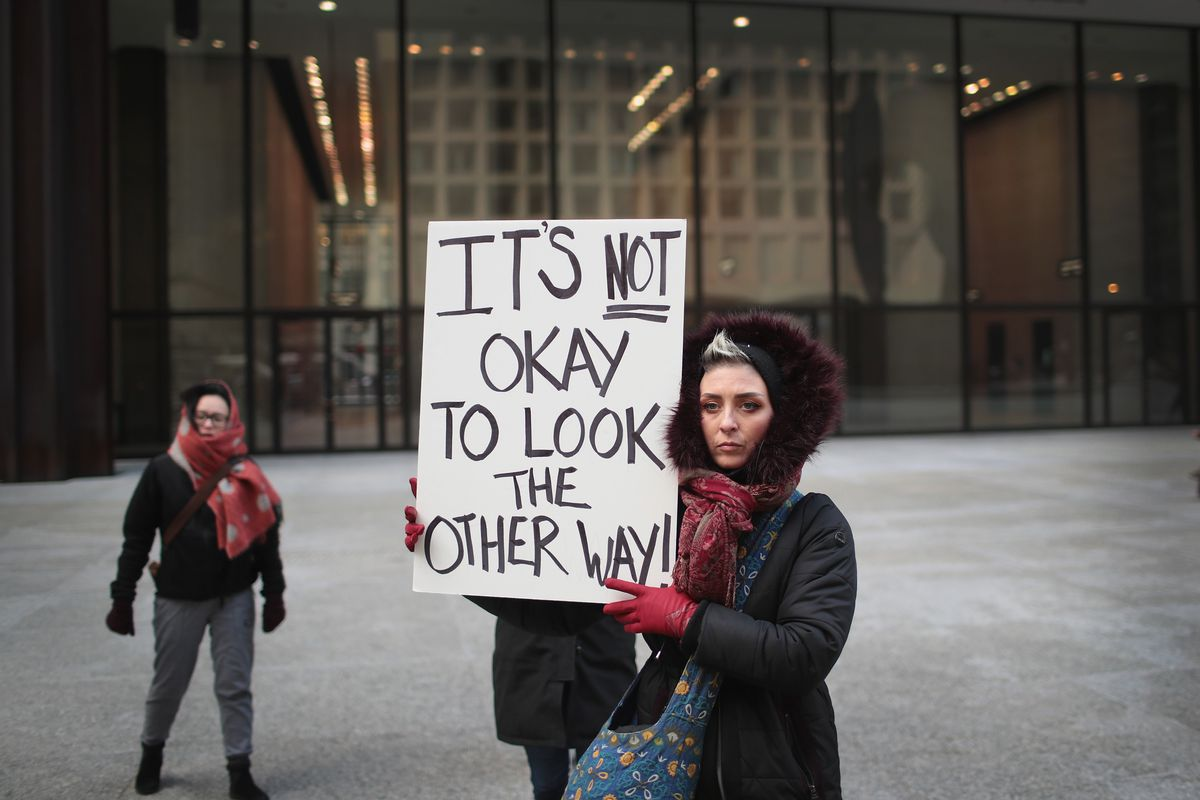 Activists Demonstrate On 50th Anniversary Of MLK's Assassination