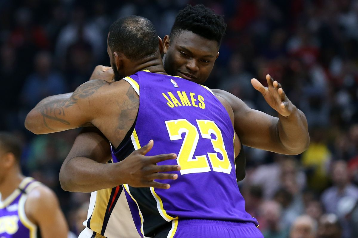 Lebron Vs Zion Stats Highlights Fantasy Basketball Recap For Lakers Pelicans Draftkings Nation