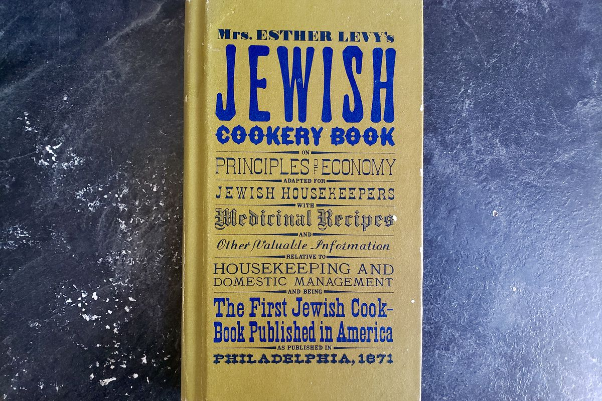 A copy of Mrs. Esther Levy's Jewish Cookery Book