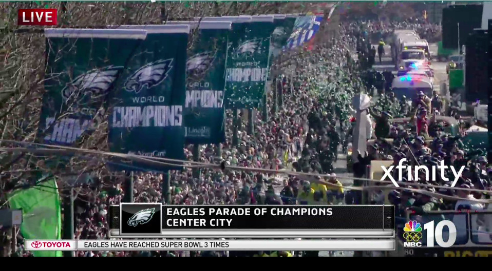 Eagles parade 2018 live updates  Highlights from Philadelphia s ... 68ca54366