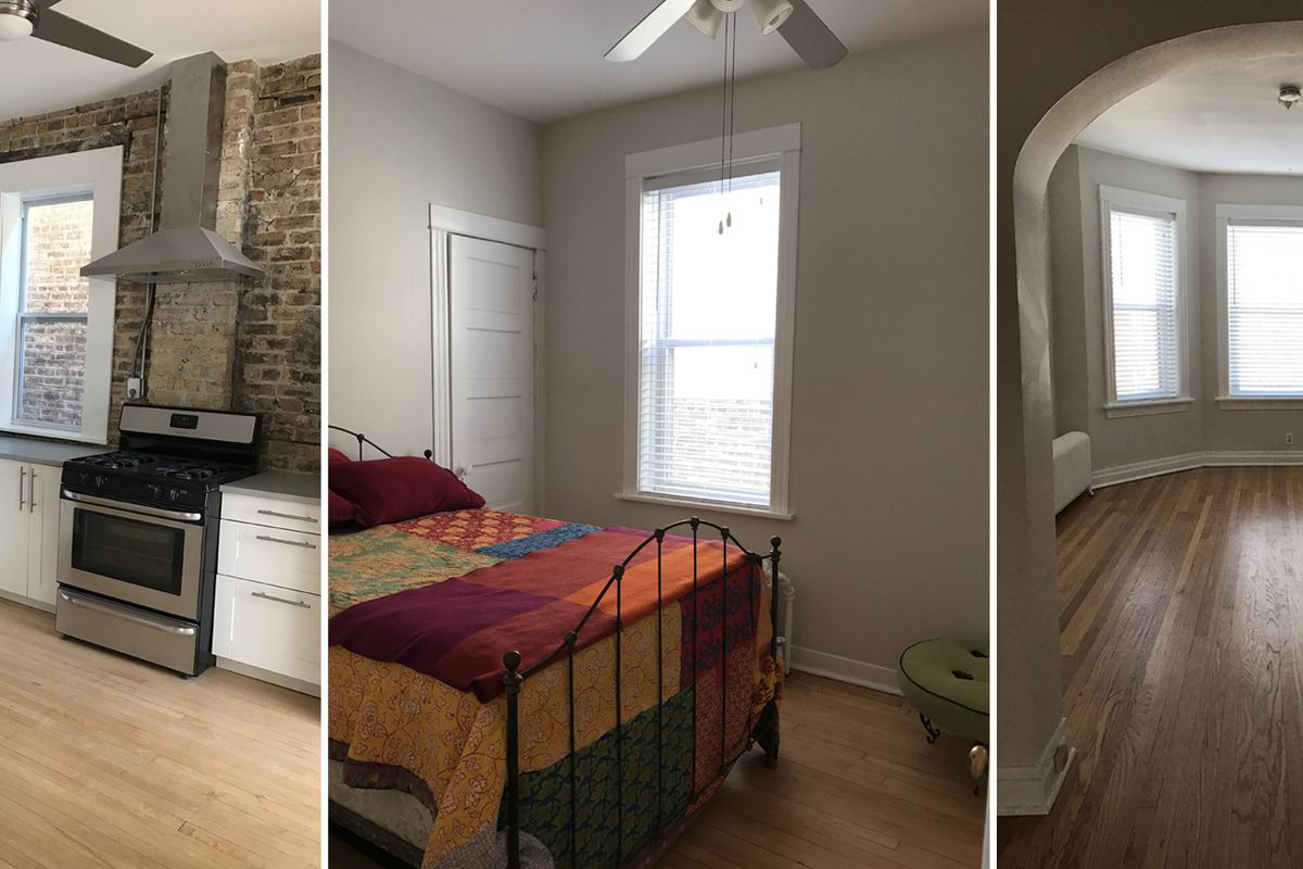 Renovated Albany Park three-bedroom apartment rents for ...
