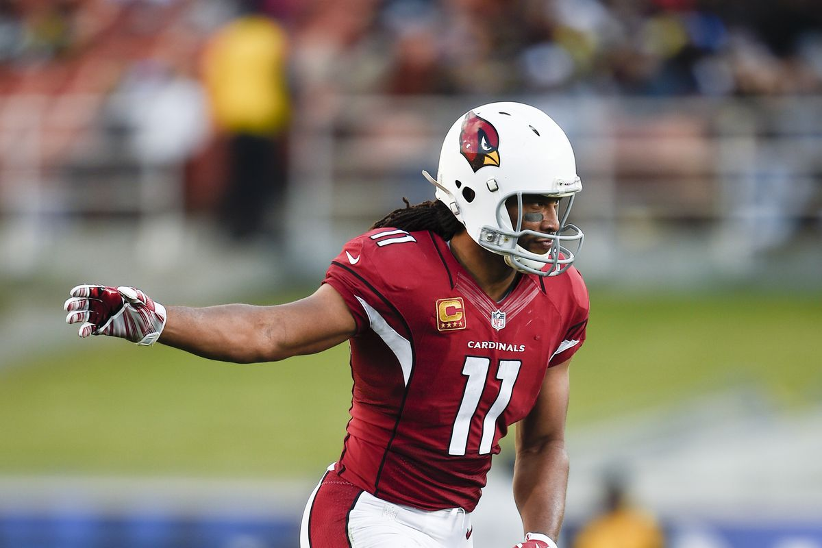 Larry Fitzgerald says the Cardinals playing in the Hall of Fame