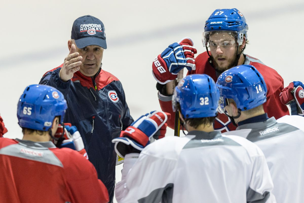 Montreal Canadiens Practice Session & Media Availability