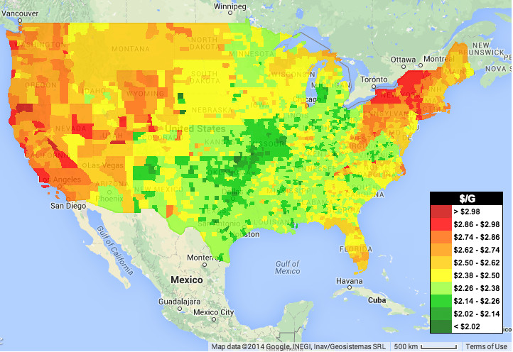 Why Gas Prices Vary So Much From State To State Vox