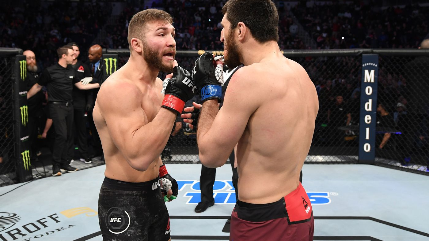 Magomed Ankalaev Vs Ion Cutelaba Official For Ufc Vegas 8 On Aug 29 Mma Fighting