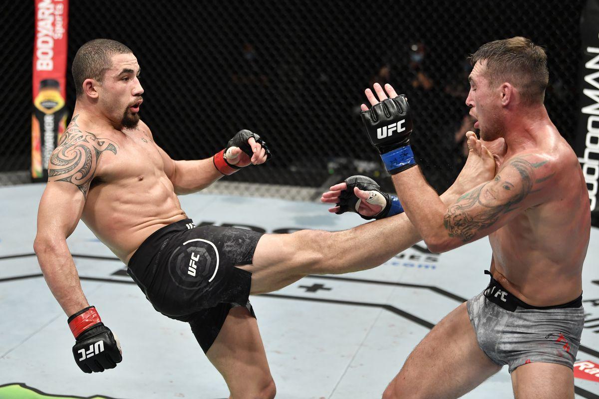 Robert Whittaker vs. Darren Till full fight video highlights - MMA Fighting