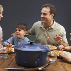 New research from Chile's Pontifical Catholic University and University of Michigan suggests that moms who talk about math with their preschoolers at the dinner table can improve their children's grasp of math in school.