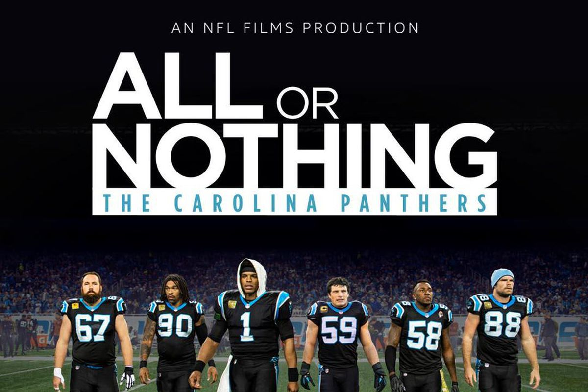 new concept 2e295 a8595 The Carolina Panthers will be featured in new season of ...