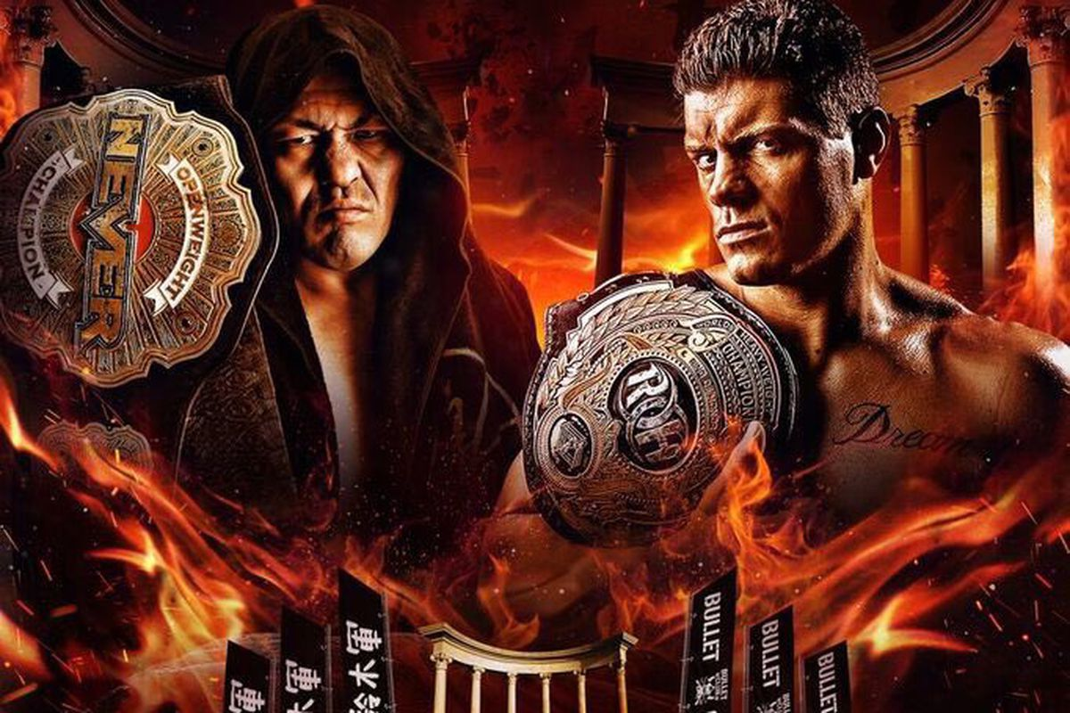 Minoru Suzuki Vs Cody Rhodes Death Before Dishonor
