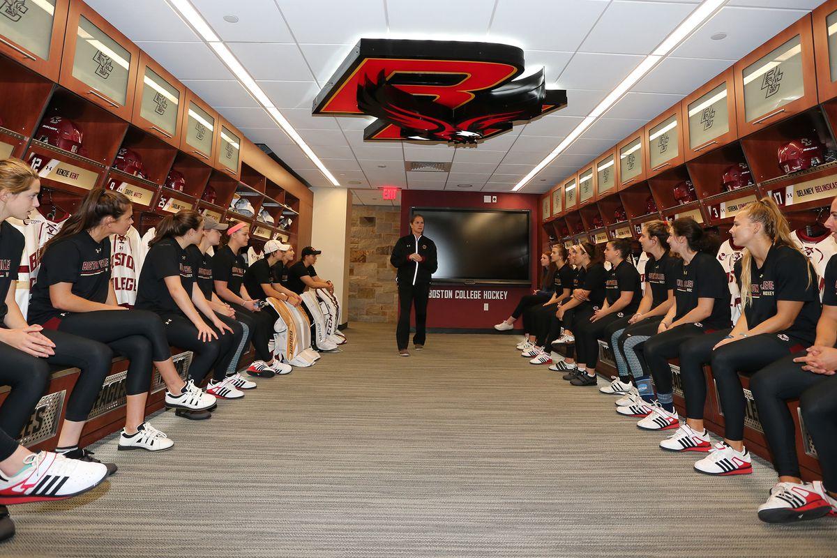 Boston College Has Women\'s Hockey\'s Slickest New Locker Room - BC ...