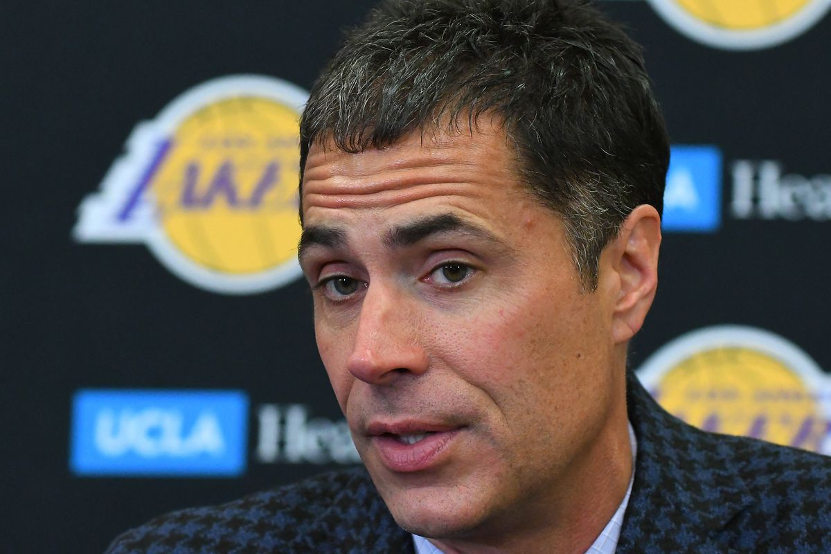 Lakers Media Day: Rob Pelinka wants the new Lakers era to be defined by competing for greatness ...