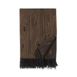 """<b>Donna Wilson</b> Wooly Wood Large Throw, <a href=""""http://www.drygoodsny.com/collections/household/products/woolywoodlargethrow"""">$350</a> at Dry Goods"""