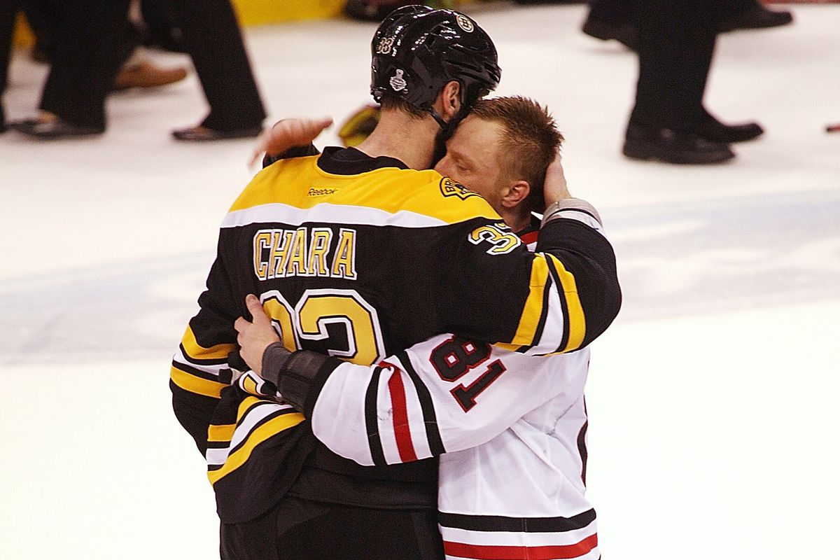 This is a picture of Chara losing. Gracefully I guess.