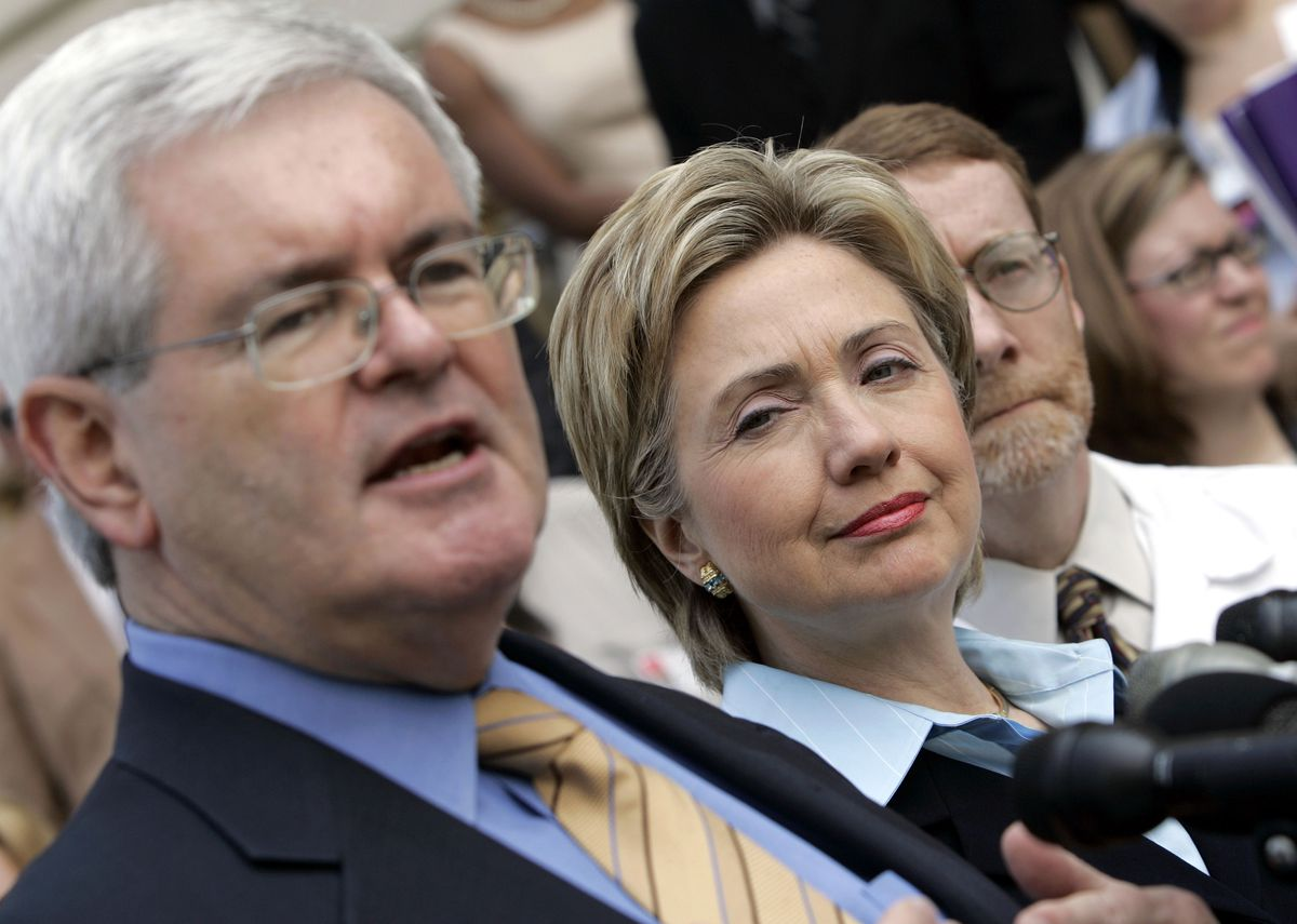 Patrick Kennedy And Newt Gingrich Address Health Care Reform