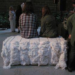 Cotton benches