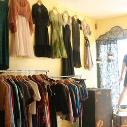 """Now that you've got your treasure hunting gloves on, head over to <b>Possession Vintage</b> (5119 York Blvd). There, you'll find a <a href=""""http://possessionvintage.tumblr.com/"""">superb selection</a> of pre-loved gems from decades past, like 1960s Mod dres"""