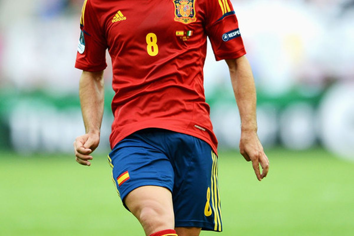 Xavi will get  some well deserved rest from <em>La Furia Roja</em>