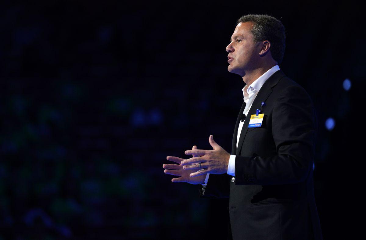 Walmart CEO Doug McMillon.