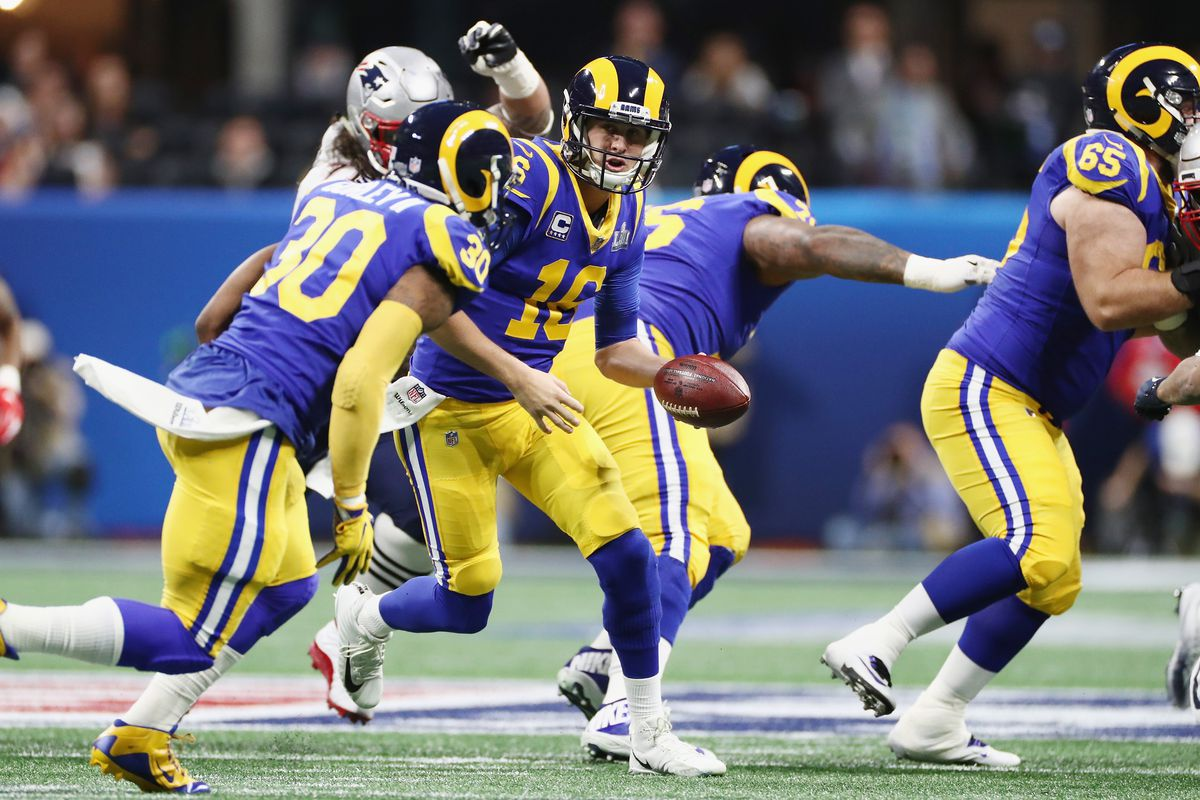 Why Hasn T Todd Gurley Been On The Field Much In Super Bowl 2019 Sbnation Com