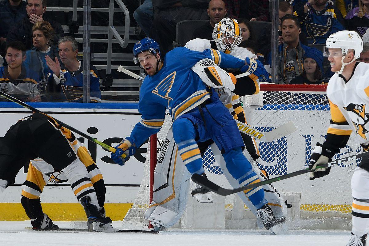 Pittsburgh Penguins v St Louis Blues
