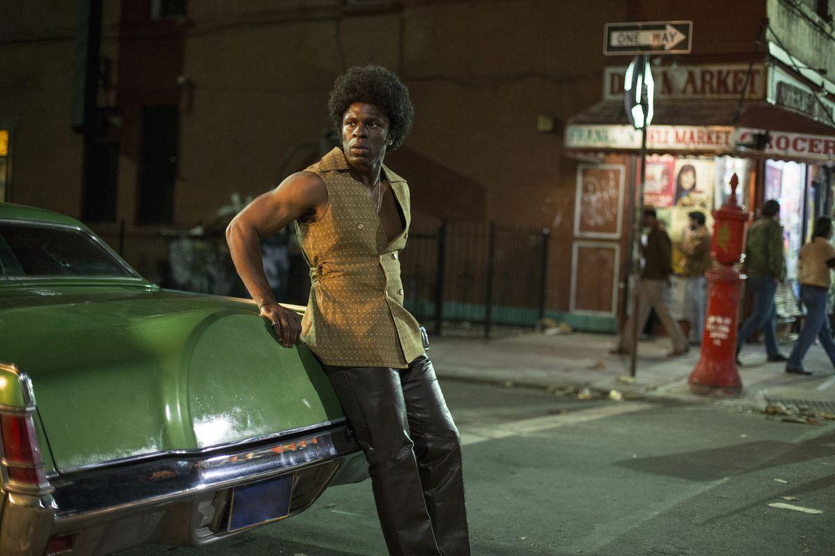 Still of 'The Deuce,' set on a Manhattan street
