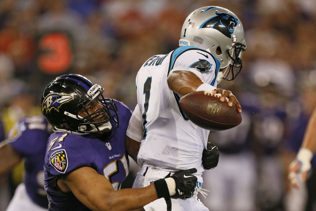The Ravens gave up 34 points to Carolina, with just six being pegged on the defense.