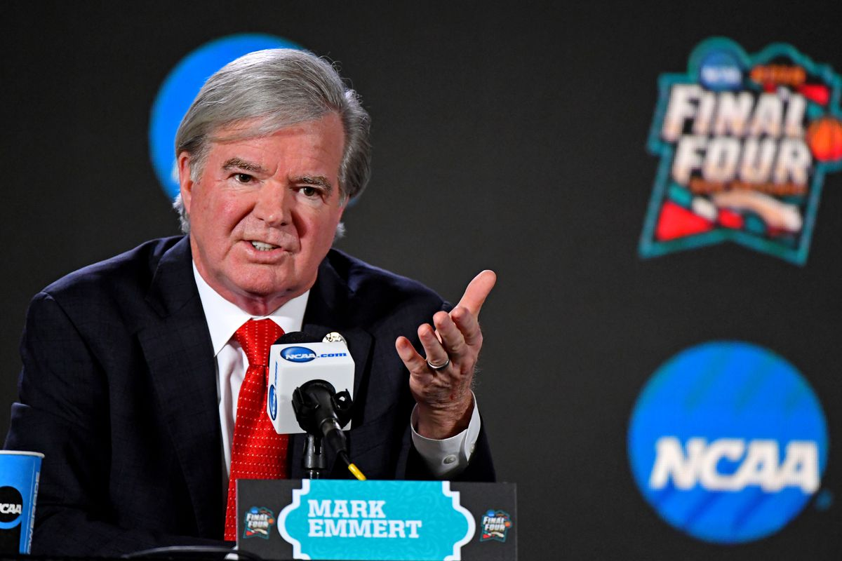 NCAA Basketball: Final Four-NCAA President Press Conference