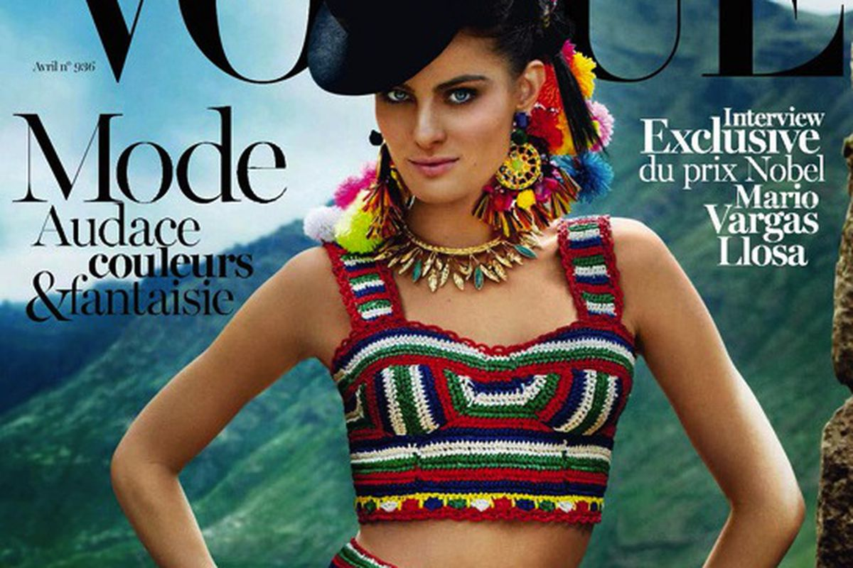 """Image via <a href=""""http://en.vogue.fr/magazine/diaporama/vogue-paris-april-2013-edition-peru-special/12322"""">Vogue</a>"""