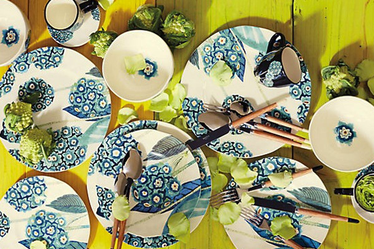 """Anthropologie Garden Buzz Dinner Plate, <a href=""""http://www.anthropologie.com/anthro/product/home-new2/30902027.jsp?cm_sp=Grid-_-30902027-_-Regular_0"""">on sale</a> for $10.20–$15.30"""