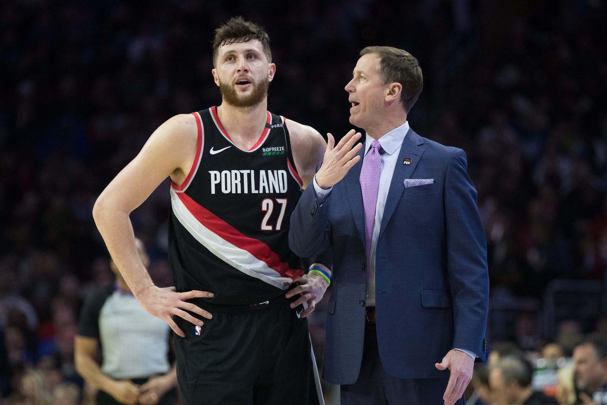 NBA: Portland Trail Blazers at Philadelphia 76ers