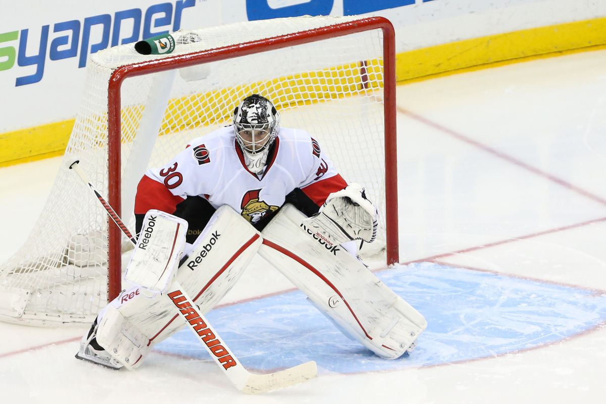 Ben Bishop has been acquired from the Ottawa Senators for a very heftyprice.