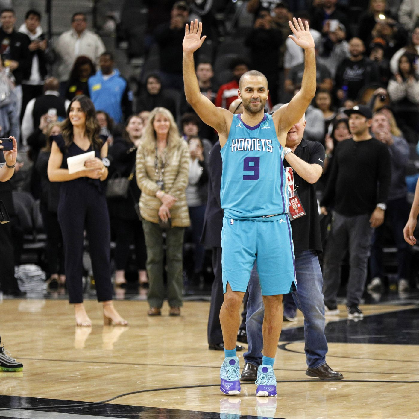20a1128f954 Don't count on Tony Parker retiring as a Spur - Pounding The Rock