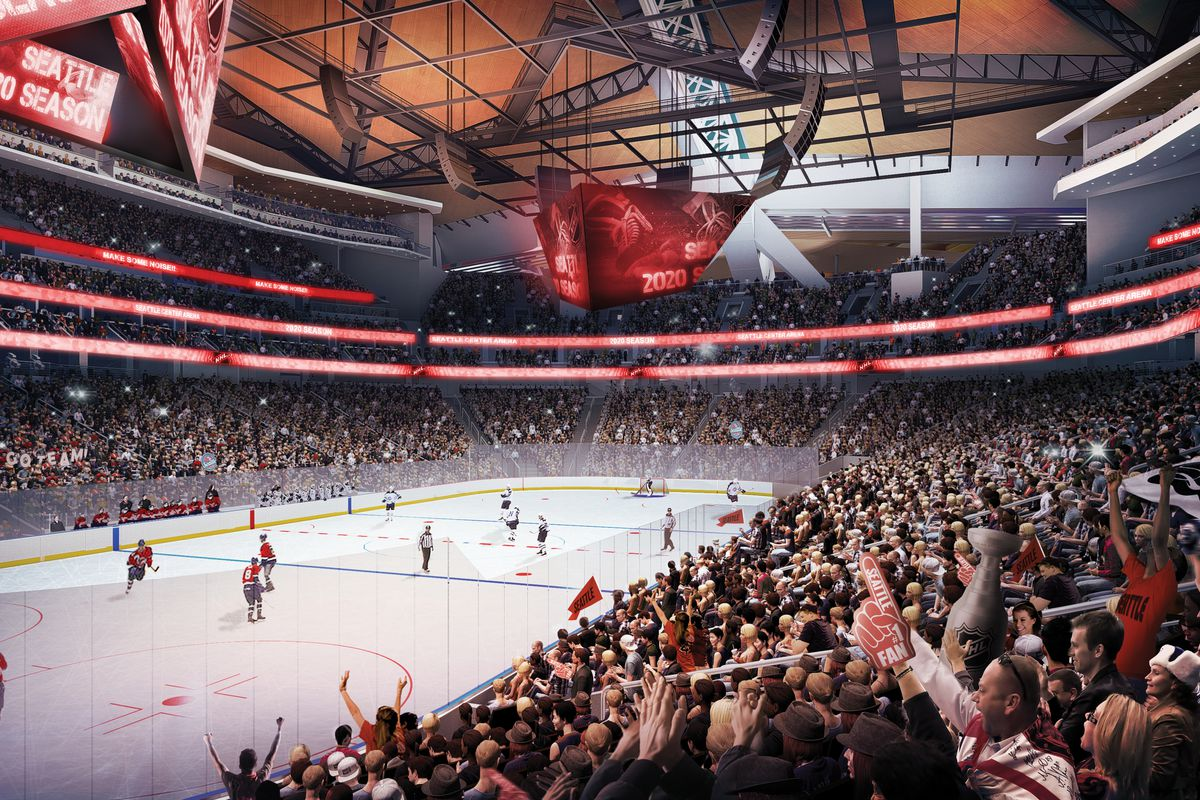 With An Nhl Franchise Approved Seattle Center Arena Prepares To