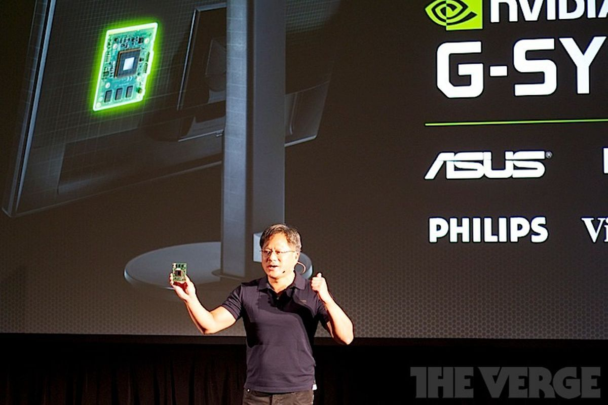 Nvidia G-Sync puts processors inside your PC monitor to