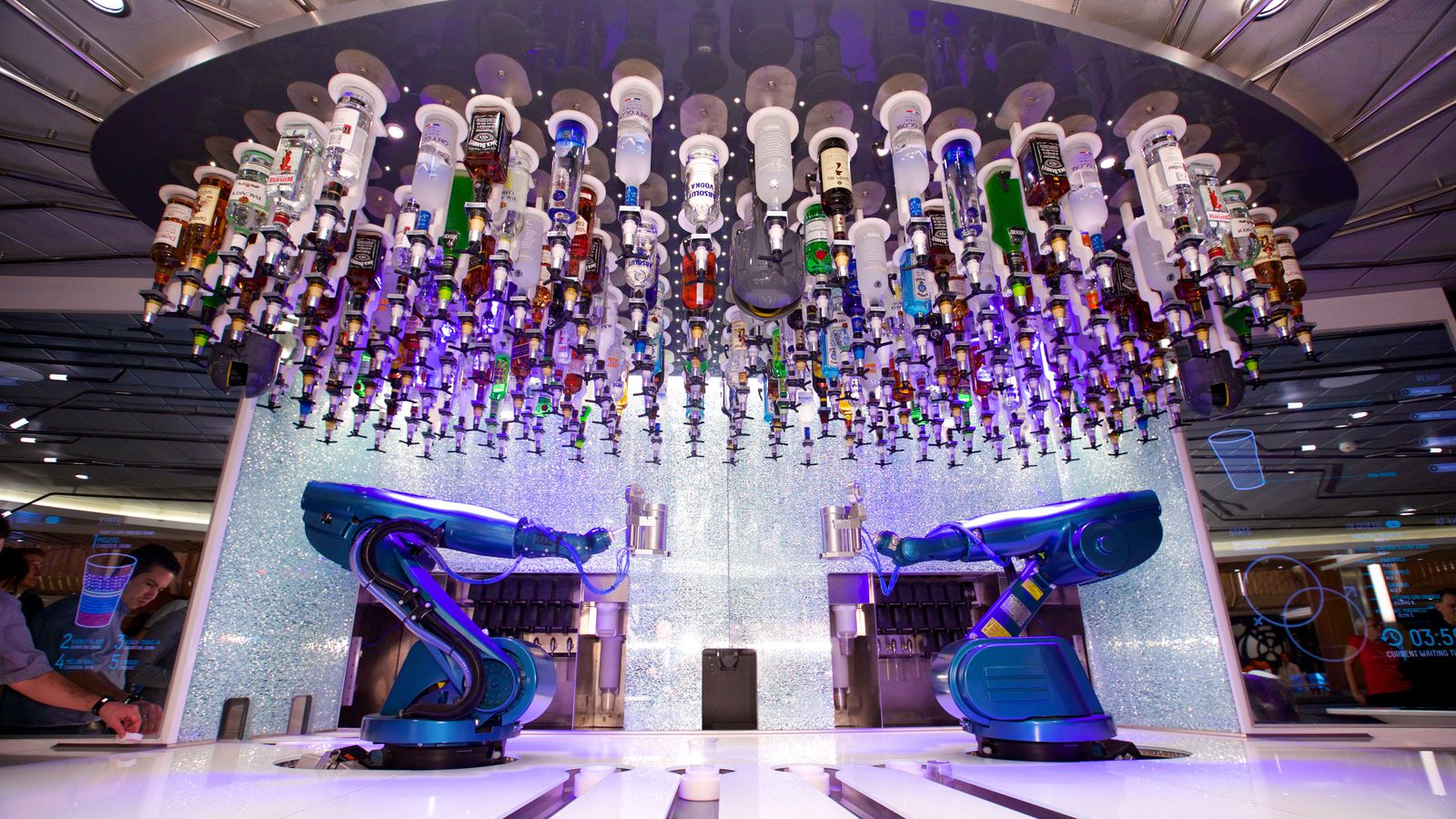 First Robotic Bar Experience In The World Heads To The Las Vegas Strip Eater Vegas