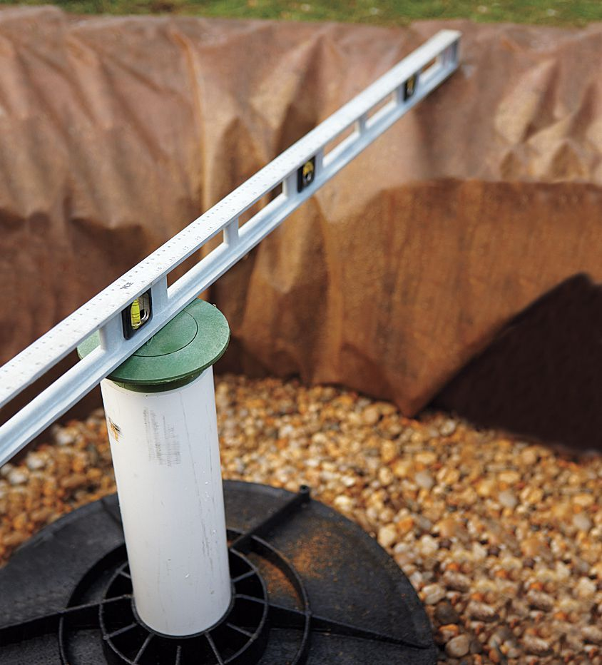Overflow Emitter For Dry Well Installation