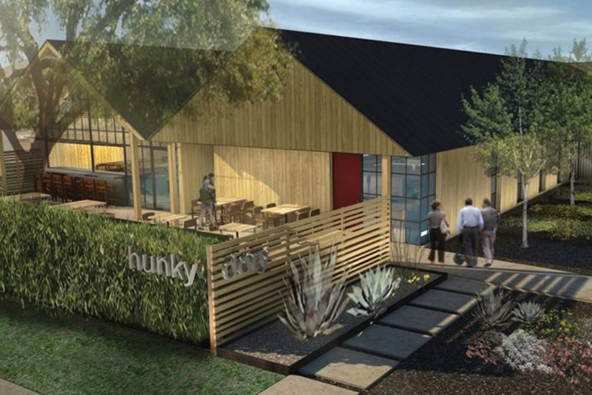A rendering of what a completed Hunky Dory should look like.
