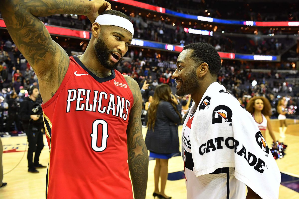 ba1e8b332641 NBA Rumors  How Wizards could get DeMarcus Cousins with John Wall ...