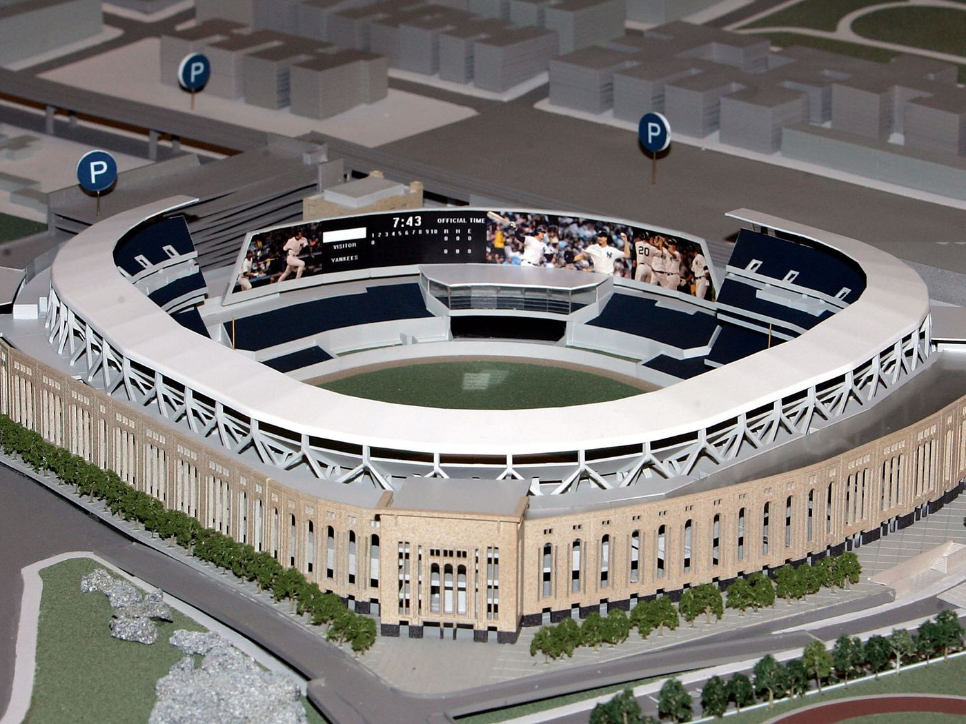A Tour Of The New Yankee Stadium That Could Have Been Pinstripe Alley