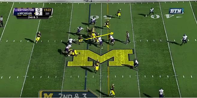 FF - Northwestern - Smith - 18-Yard Run - 4
