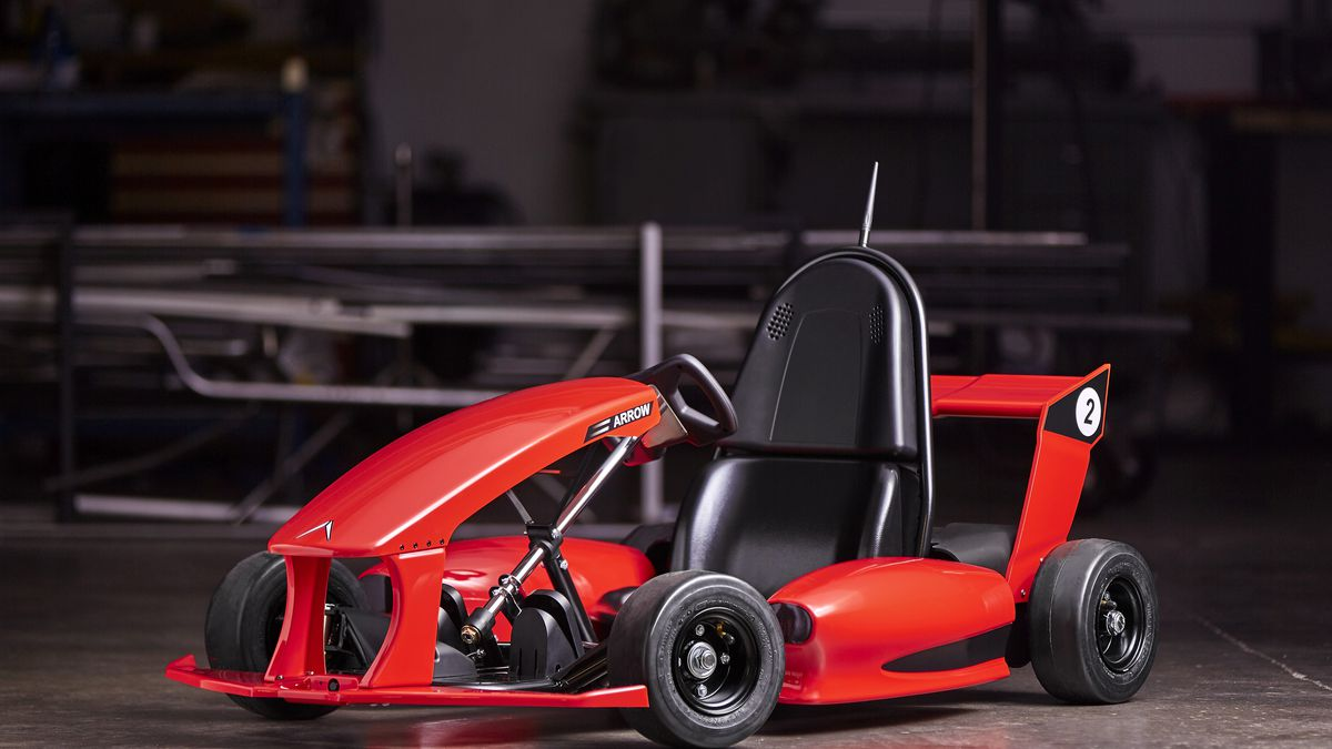 This 599 Smart Go Kart Can Literally Do Donuts Around Wheels