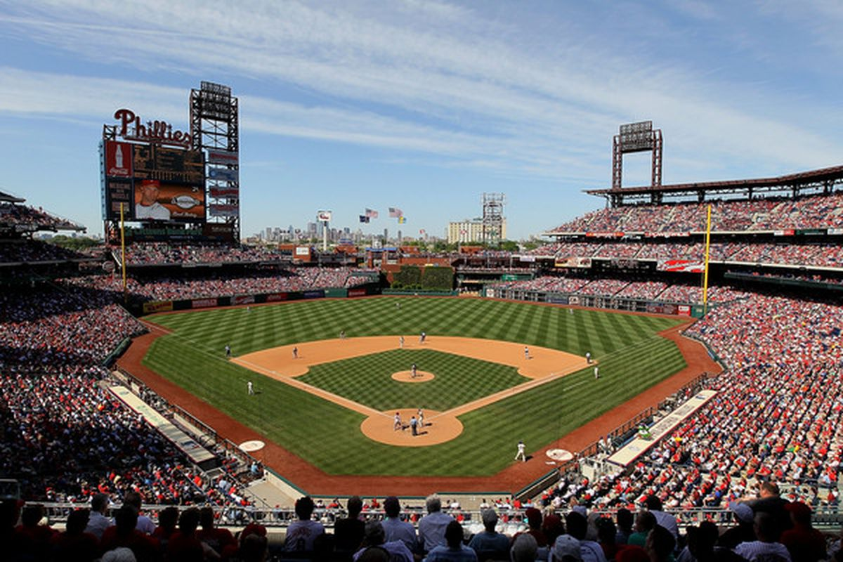 Citizens Bank Park -- still the fairest in the land.  (Photo by Jim McIsaac/Getty Images)