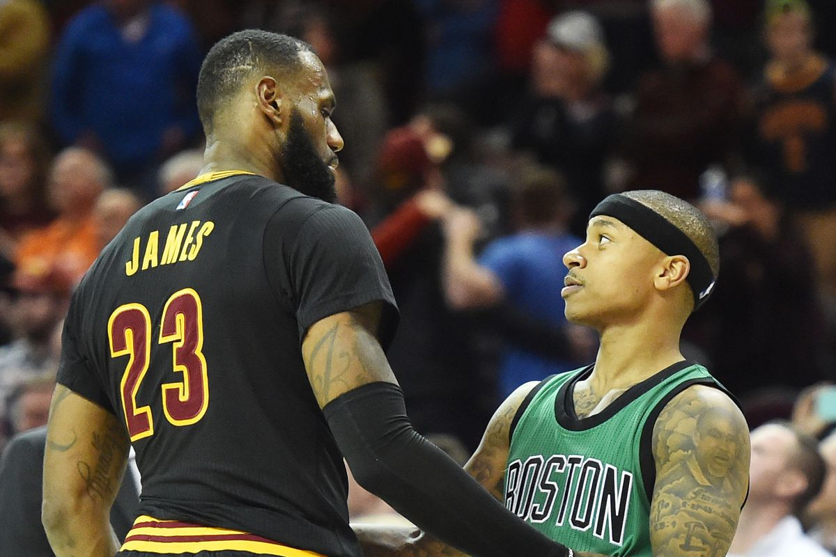 b18741b07233 LeBron James said Isaiah Thomas  sister was  looking down on him  during  incredible 53-point performance