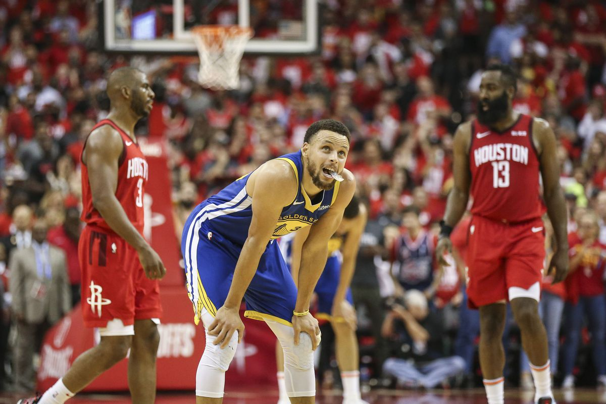 c2826ebe6d4 NBA Podcast  Rockets vs. Warriors Game 4 goes down to the wire ...