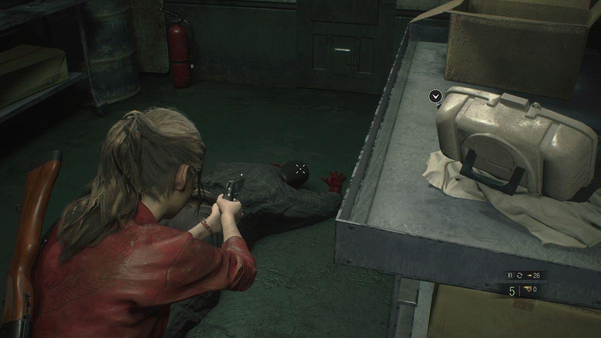 Resident Evil 2 Workroom