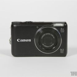 Point-and-shoot Canon camera