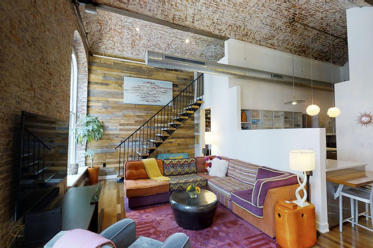 funky loft in historic white building seeks 829k curbed philly