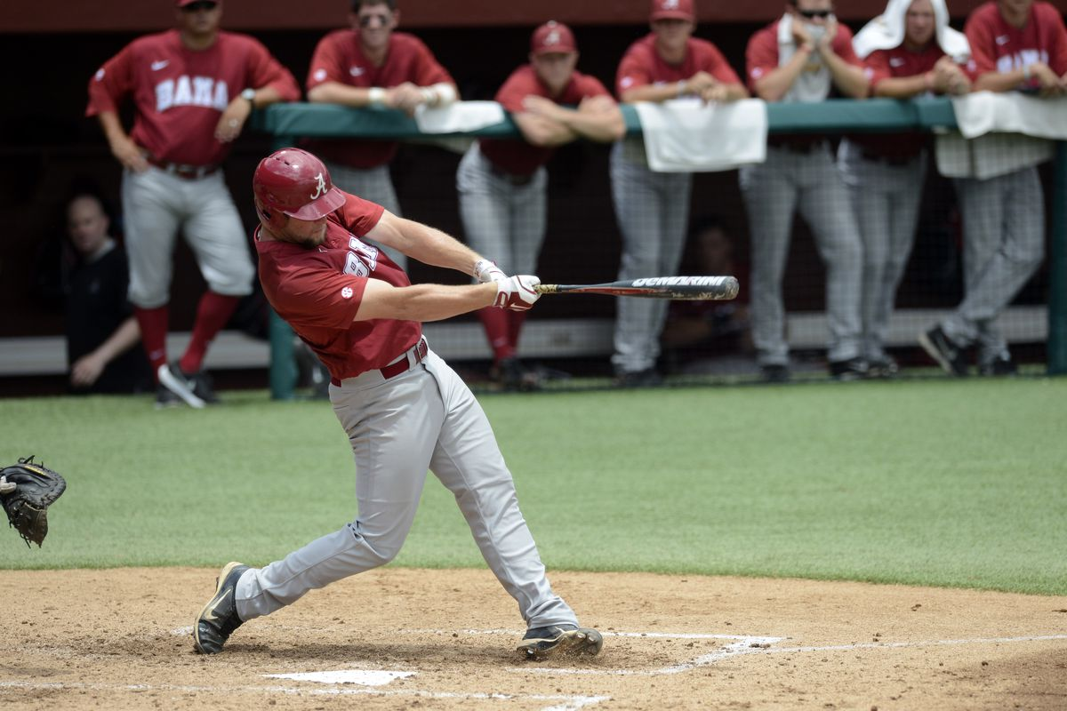 Austen Smith is swinging a hot bat for Bama right now