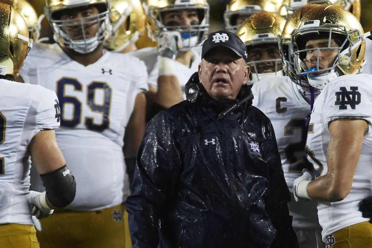 Notre Dame's Brian Kelly moves on from Michigan preps for Virginia Tech