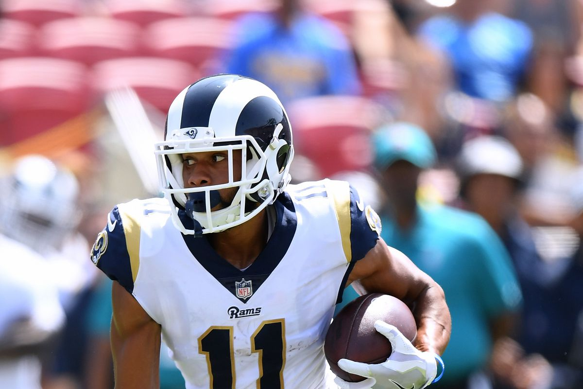 newest collection 2f42f 1a53b LA Rams promote WR KhaDarel Hodge from practice squad - Turf ...